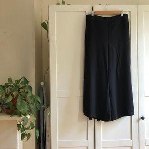 Madewell Huston Pull-On Crop Pants (Black) – L
